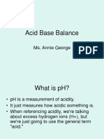 Annie - Acid Base Balance.ppt