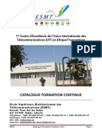 Catalogue Formation Continue Esmt 2014