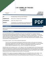 Employment Agreement Amendment Between City & City Administrator Rerig 08-08-17