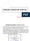 Projection of Points