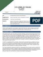 Memorandum of Agreement Monterey Bay Community Power 08-08-17