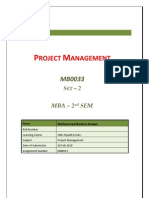 MB0033 - Project Management - Completed