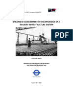 Mgmt of Railway Infra