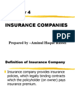 Chapter Insurance companies