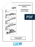 MAintenance Manual Progressive Cavity Pumps 1