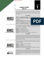 INMO Maths Olympiad Model question paper Class 1.pdf