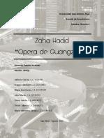 Análisis Arquitectónico de la  Opera de Guangzhou