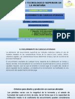 Exp 5.2 Escurrimiento en Cuenca Aforo