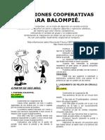13 Variaciones Cooperativas Para Deportes Balompie