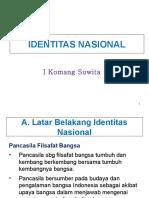 1. Ppkn Identitas Nasionalis