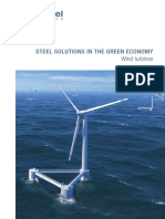 Steel Solutions in the Green Economy- Wind Turbines