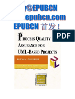 Addison Wesley - Process Quality Assurance for UML Based Projects