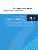 Final Publication Version of the 7 Lessons Mainstreaming Cross Cutting Issues