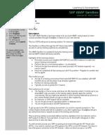CourseAnnouncement 00111454-SAP ABAP Sandbox (HPVL-WBT)