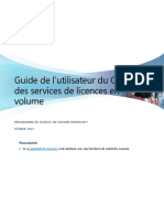 VLSC User Guide French