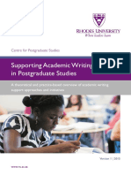 Wilmot 2016 RU PG Writing Overview Book