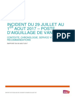 Rapport Sncf