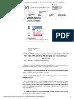 Flux Cored Arc Welding Advantages and Disadvantages - Ningbo Davison Machinery Manufacture Co