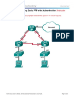 3.4.1.5 Lab - Troubleshooting Basic PPP With Authentication - ILM