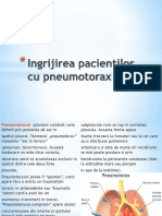 Ingrijirea Pacientilor Cu Pneumotorax