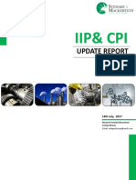IIP & CPI Update Report