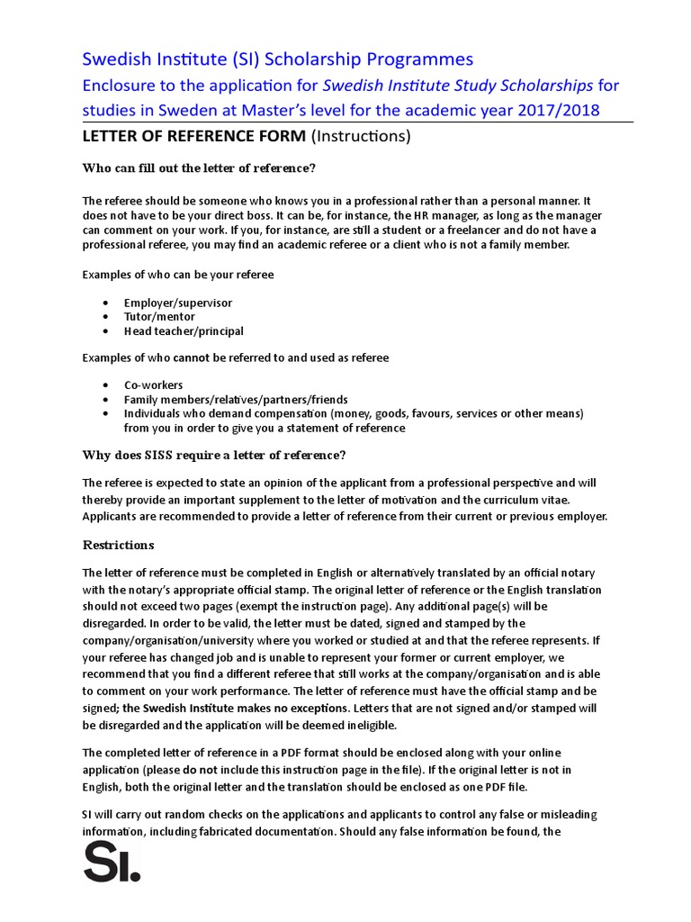 scholarship letter of recommendation templates