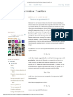 La Mecánica Cuántica_ Técnicas de Aproximación III