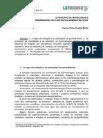 {1c76209a-Df72-4b00-A68e-4372ef25caf0}_carlos Pinto Coelho Motta - o Princípio Da Moralidade e Da Prorrogação Emergencial de Contratos Administrativos