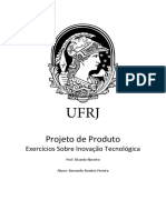 Projeto Do Produto - Inovação Tecnológica