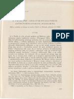Brozovic, D. O Problemu Ijekavskoscakavskog (Istocnobosanskog) Dijalekta