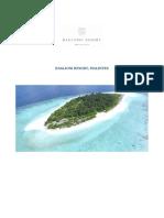 Maldives - Job Advert Housekeeping Manager