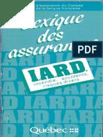 Lexique Des Assurances