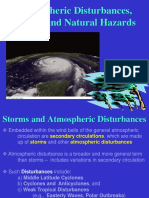 10. Atmospheric Disturbances, Storms and Natural Hazards