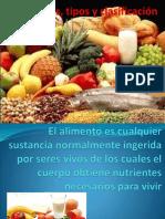 alimentostiposyclasificación