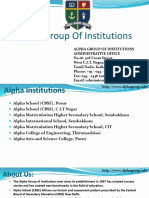 Alpha Group Of Institutions
