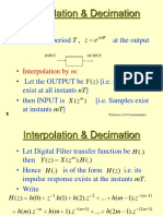 14 Interpolation Decimation