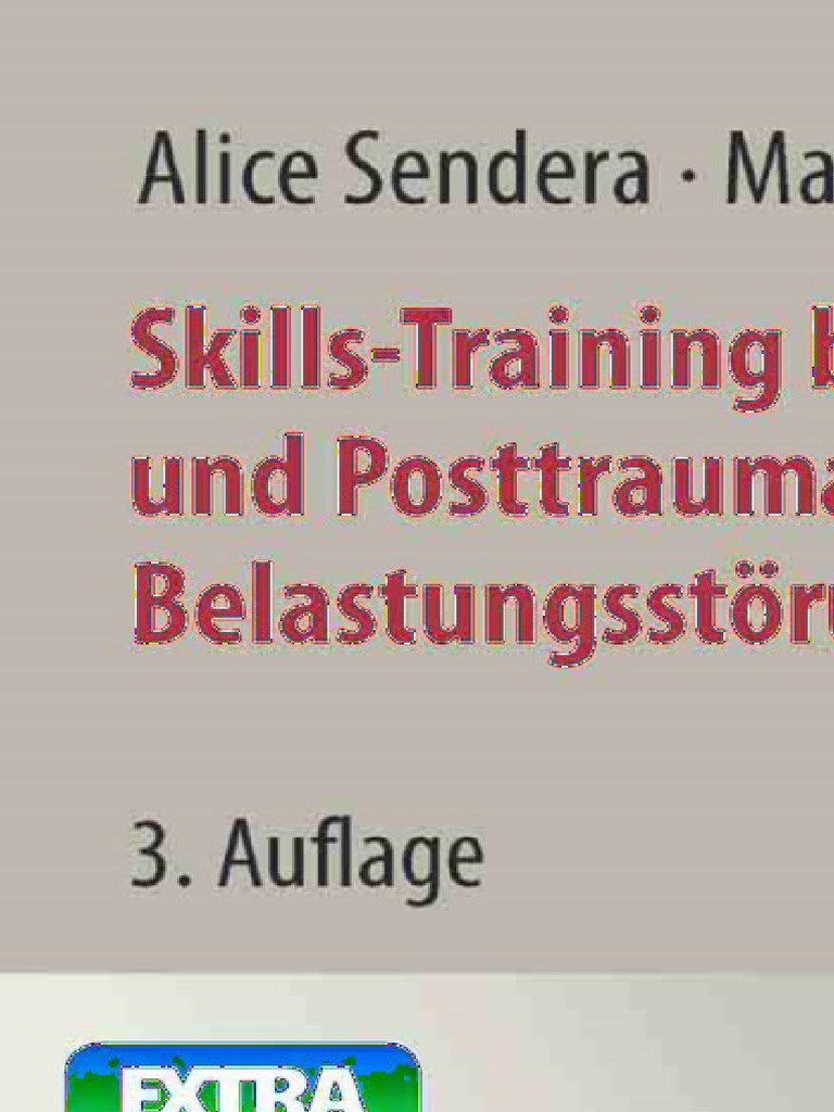 Alice Sendera and Martina Sendera - Skills-Training bei Borderline ...