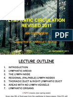 Lymphatic Circulation Revised 2011