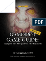 Vampire the Masquerade - Redemption - Gamespot Guide