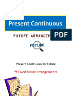 Present Continuous for Future (PPT)