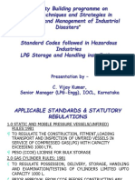 Standard Codes Followed in Lpg Industries
