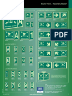 Muster Point Signs & Assembly Station Signs