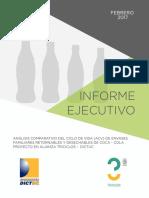 Informe Ejecutivo Coca Cola Triciclos Dictuc