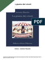 Scaricare Libri Gratis  La giostra dei criceti (PDF - ePub - Mobi) Di Antonio Manzini .pdf