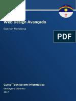 Caderno INFO(Web Design Avançado 2017.1)