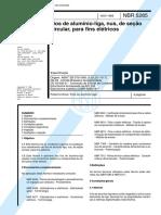 NBR 5285 - Fios de Alumínio-Liga, Nus, de Seção Circular, Para Fins Elétricos.pdf