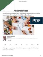 """""""10 Mitos Sobre La Creatividad"""" Martin Zwilling"""