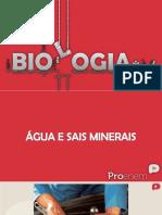 Biologia - Água e Sais Minerais