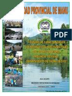 Estudios y caracterización de los Residuos sólidos municipales (Ecrsm ) del distrito de Manu