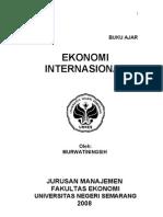 Buku+Ajar+Ekonomi+Internasional